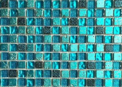 Turquoise swimming pool tiles available at Bawa Pools